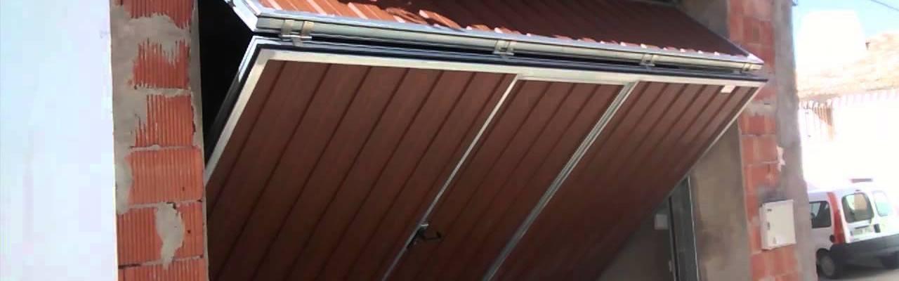 puerta basculante1 hori - Reparacion Puertas Garaje Corredera Basculante Enrollable Seccional Alicante