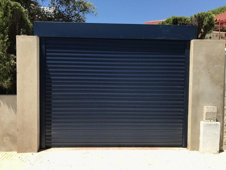puerta enrollable garaje 09 2020 - Instalación y reparación puerta de garaje enrollables en Barcelona, Valencia y Alicante
